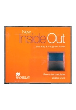 NEW INSIDE OUT PRE-INTERMEDIATE CLASS CDs (SET 3 CD)
