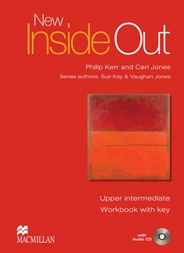 NEW INSIDE OUT UPPER INTERMEDIATE WORKBOOK WITH KEY & AUDIO CD