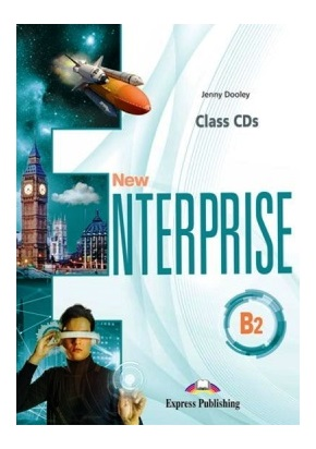 NEW ENTERPRISE B2 CLASS CDs (SET OF 4)