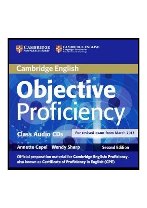 OBJECTIVE PROF. 2ND ED. CLASS AUDIO CDs (SET OF 2)