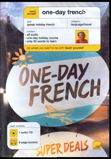 TEACH YOURSELF ONE-DAY FRENCH AUDIO CD