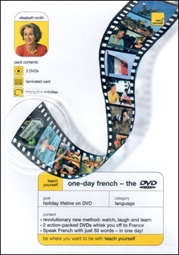 TEACH YOURSELF ONE-DAY FRENCH - THE DVD