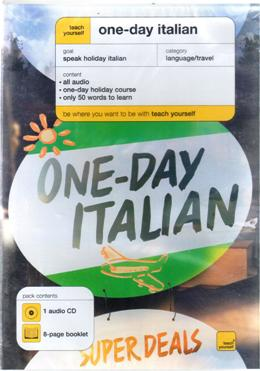 TEACH YOURSELF ONE-DAY ITALIAN AUDIO CD