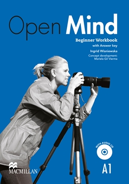 OPEN MIND BEGINNER WORKBOOK WITH KEY & AUDIO CD