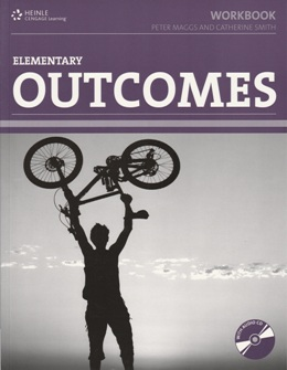 OUTCOMES ELEMENTARY WORKBOOK WITH KEY & AUDIO CD