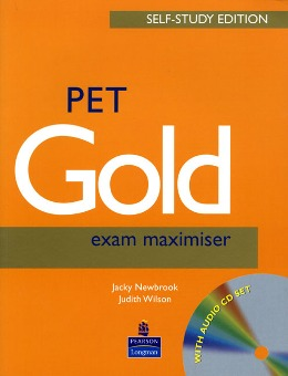 PET GOLD EXAM MAXIMISER SELF-STUDY EDITION WITH KEY & AUDIO CD