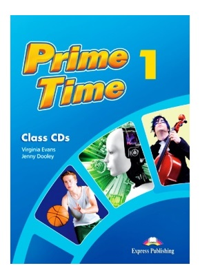 PRIME TIME 1 CLASS CDs (SET 4 CD)