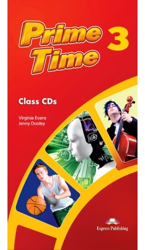 PRIME TIME 3 CLASS CDs (SET 5 CD)