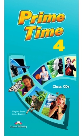 PRIME TIME 4 CLASS CDs (SET 7 CD)