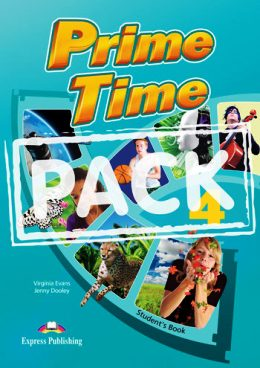 PRIME TIME 4 STUDENT'S BOOK WITH IEBOOK