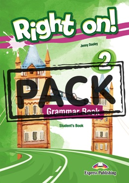 RIGHT ON! 2 GRAMMAR BOOK STUDENT'S PACK