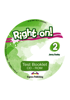 RIGHT ON! 2 TEST BOOKLET CD-ROM