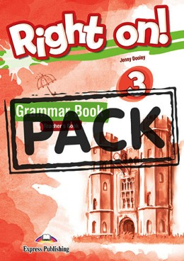 RIGHT ON! 3 GRAMMAR BOOK TEACHER'S PACK