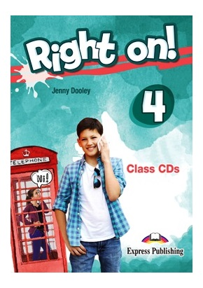 RIGHT ON! 4 CLASS CDs (SET OF 3)