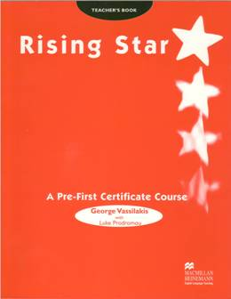 RISING STAR A PRE-FIRST CERTIF. COURSE TEACHER'S BOOK