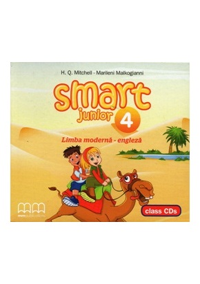SMART JUNIOR 4 CLASS CDs (SET OF 2) - RO