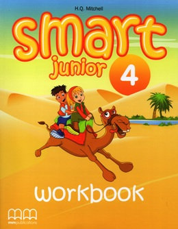 SMART JUNIOR 4 WORKBOOK WITH AUDIO CD/CD-ROM