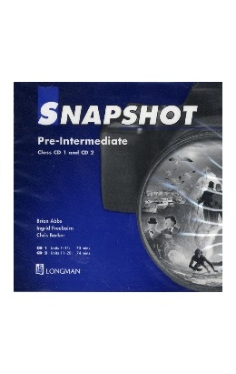 SNAPSHOT PRE-INTERMEDIATE CLASS CDs (SET 2 CD)