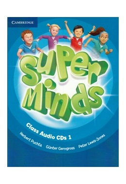 SUPER MINDS 1 CLASS AUDIO CDs (SET 3 CD)