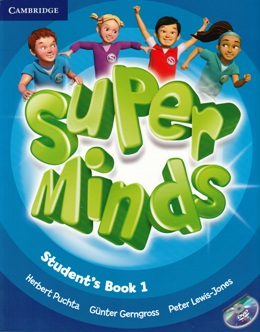 SUPER MINDS 1 STUDENT'S BOOK WITH DVD