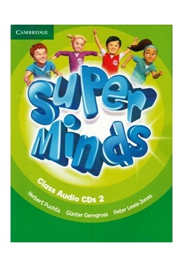 SUPER MINDS 2 CLASS AUDIO CDs (SET 3 CD)