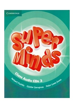 SUPER MINDS 3 CLASS AUDIO CDs (SET 3 CD)
