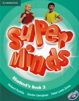 SUPER MINDS 3 STUDENT'S BOOK WITH DVD