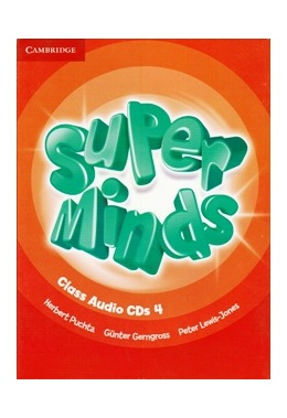 SUPER MINDS 4 CLASS AUDIO CDs (SET 4 CD)