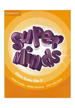 SUPER MINDS 5 CLASS AUDIO CDs (SET 4 CD)