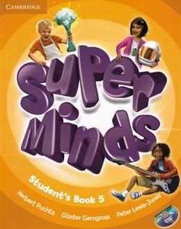 SUPER MINDS 5 STUDENT'S BOOK WITH DVD