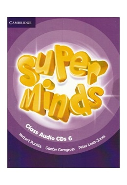 SUPER MINDS 6 CLASS AUDIO CDs (SET 4 CD)