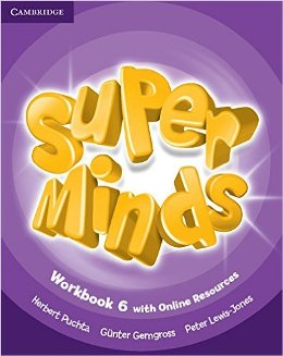 SUPER MINDS 6 WORKBOOK WITH ONLINE RESOURCES