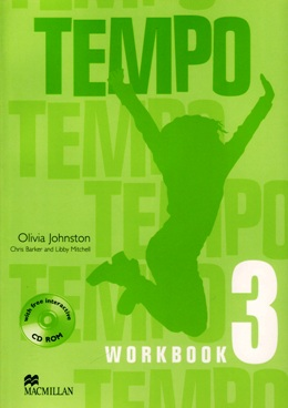 TEMPO 3 WORKBOOK WITH CD-ROM