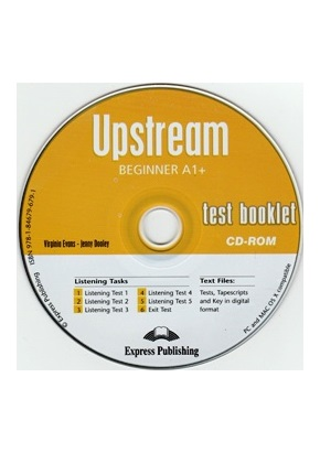 UPSTREAM BEGINNER TEST BOOKLET CD-ROM