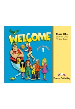 WELCOME 1 CLASS CDs (SET 3 CD)