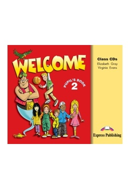 WELCOME 2 CLASS CDs (SET 3 CD)