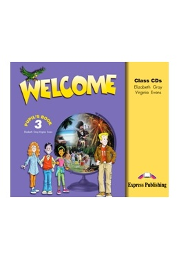 WELCOME 3 CLASS CDs (SET 3 CD)