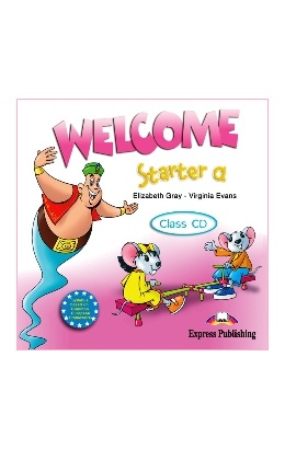WELCOME STARTER A CLASS CD