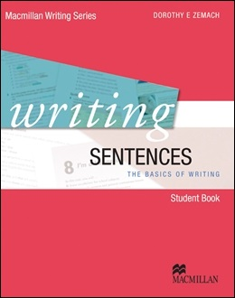WRITING SENTENCES STUDENT BOOK