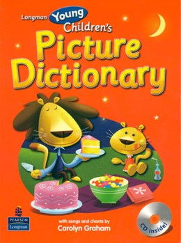 YOUNG CHILDREN'S PICTURE DICTIONARY WITH AUDIO CD